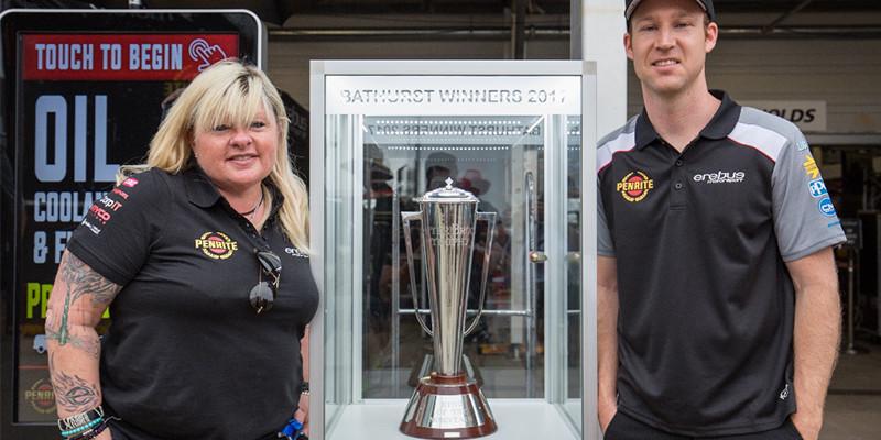 Peter Brock Trophy on tour