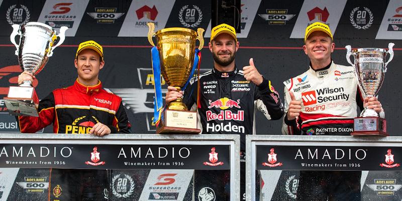 Erebus Penrite Racing first podium for 2018