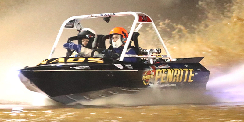 Krause three-peats whilst Ely shines in Round 3 of the Penrite Oil V8 Superboats