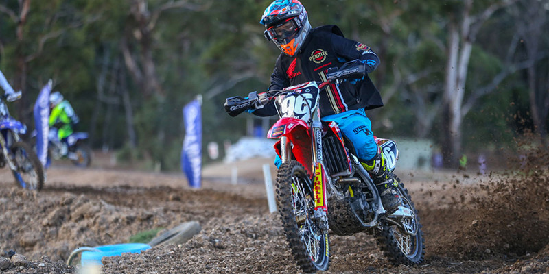 Strong return to MX Nationals for Penrite Pirelli CRF Honda Racing