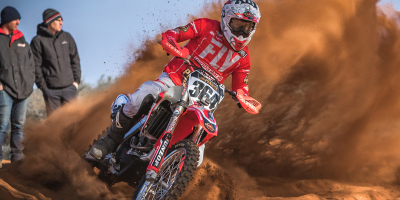 Podium finish for Penrite Honda at Hattah Desert Race