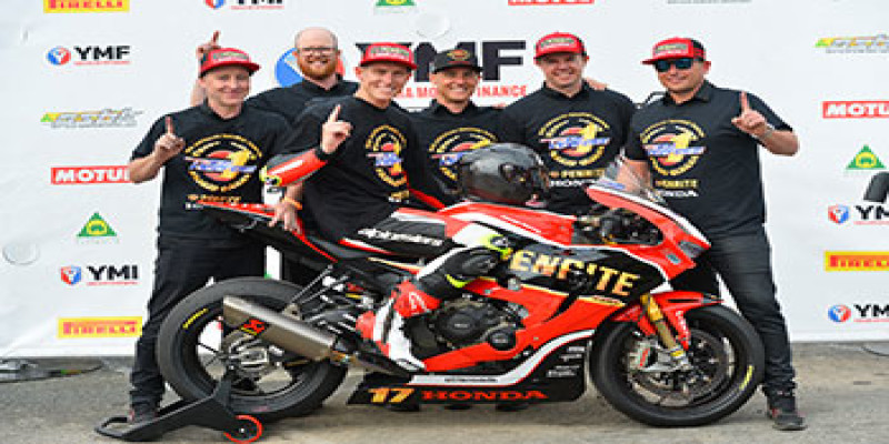 Herfoss clinches ASBK championship for Penrite Honda Racing