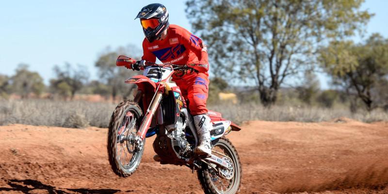Penrite Honda Racing wins 450 class at Finke