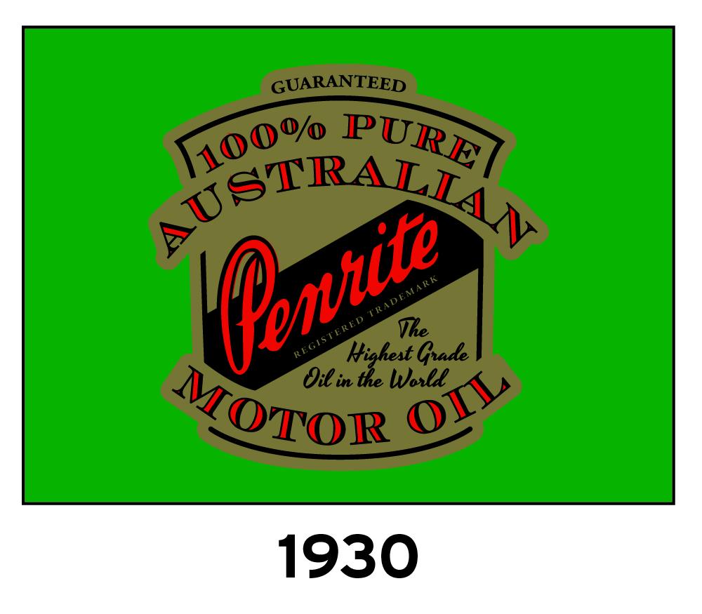 Penrite Oil Logo 1930