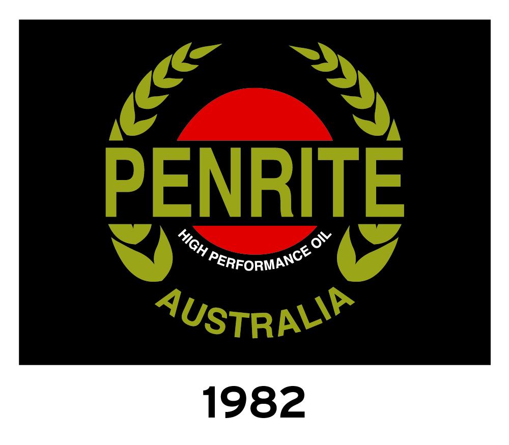 Penrite Oil Logo 1980