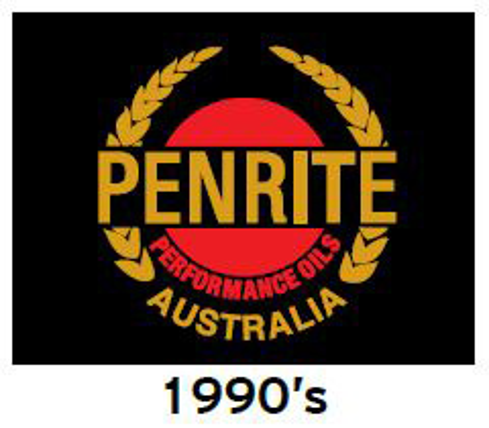 Penrite Oil Logo 1990