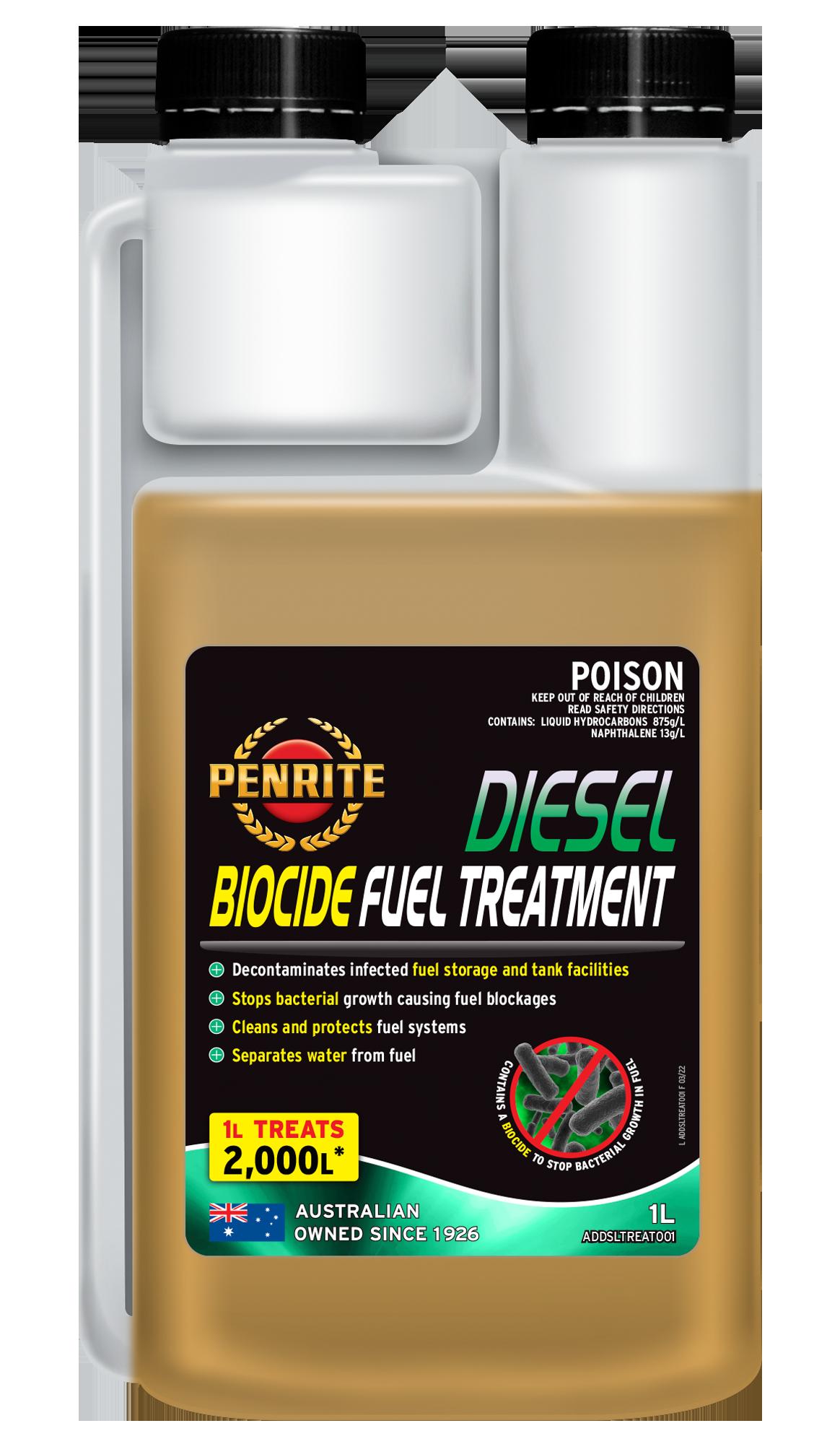 DIESEL BIOCIDE FUEL TREATMENT | Penrite Oil