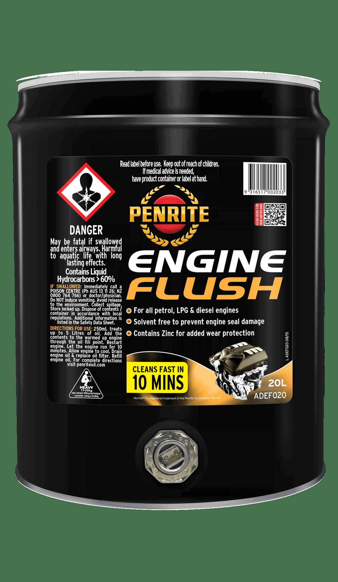Engine flushing. The importance of washing for engine operation