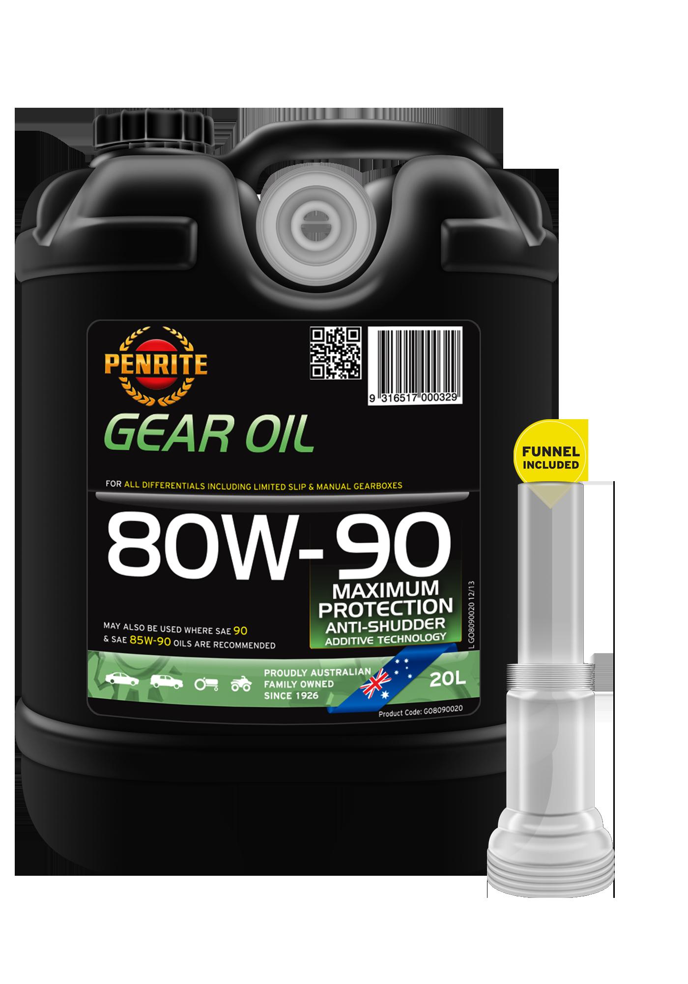 Penrite Hypoid Gear Oil 80W-90 GL-5 Oil 1 Litre Penrite Oil Company