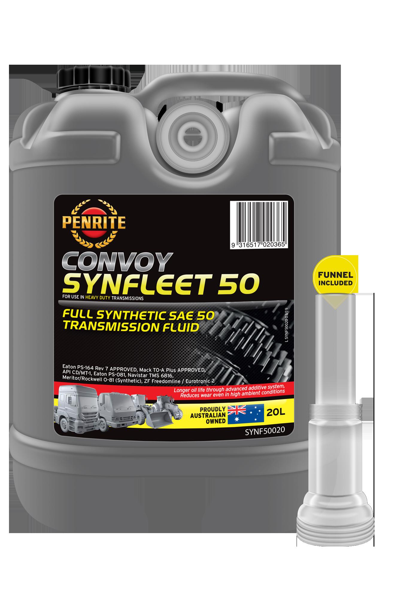 CONVOY SYNFLEET 50 SAE 50 (Full Syn )   Penrite Oil