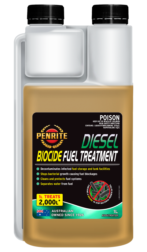 DIESEL BIOCIDE FUEL TREATMENT | Penrite Oil