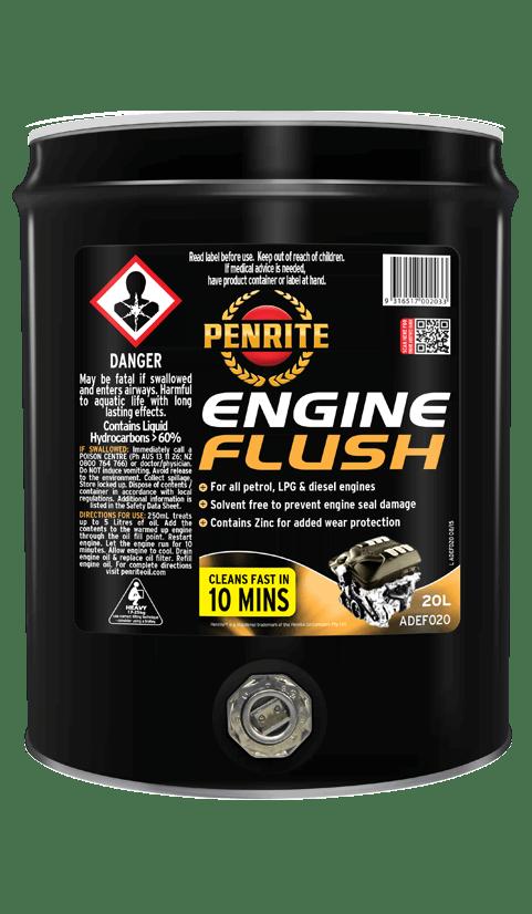 engine flush penrite oil