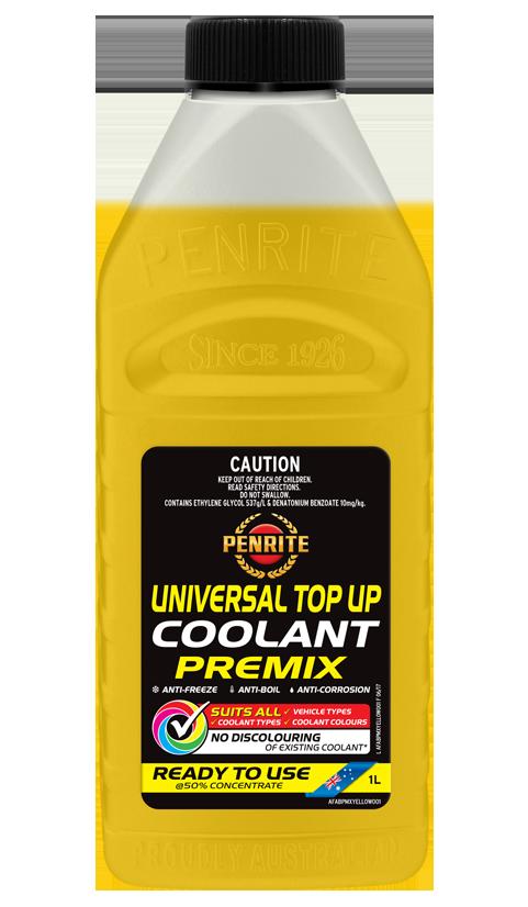 Penrite Oil- UNIVERSAL TOP UP COOLANT PREMIX  - Anti-freeze & Coolants