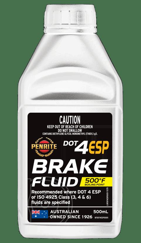 Penrite Oil- DOT 4 ESP BRAKE FLUID - Brake/Clutch Fluids