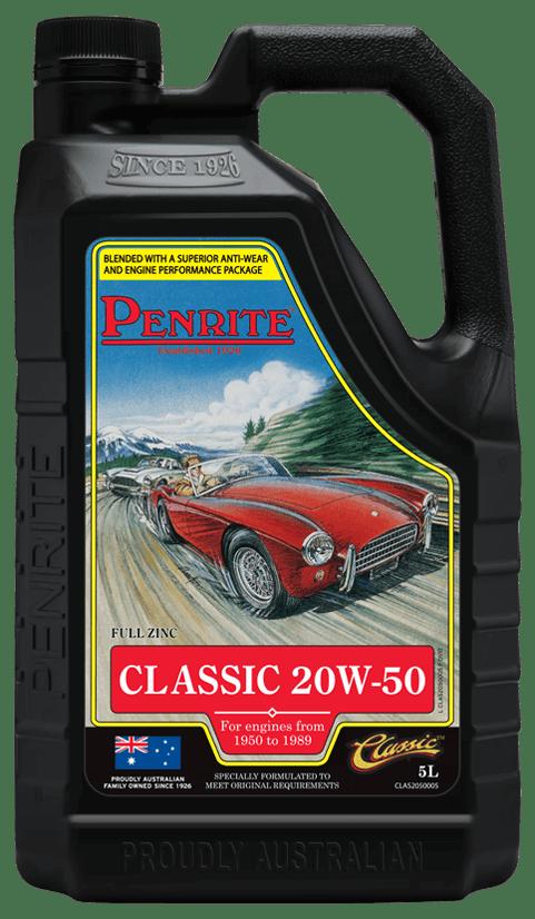 Penrite Oil- CLASSIC 20W-50 - Petrol / E10