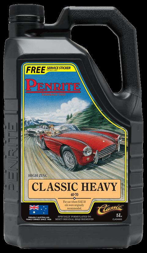Penrite Oil- CLASSIC HEAVY 40-70 (Mineral) - Racing