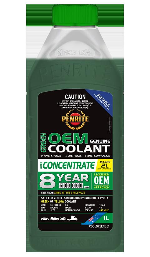 Penrite Oil - 7 YEAR 450,000KM GREEN CONCENTRATE - 1L