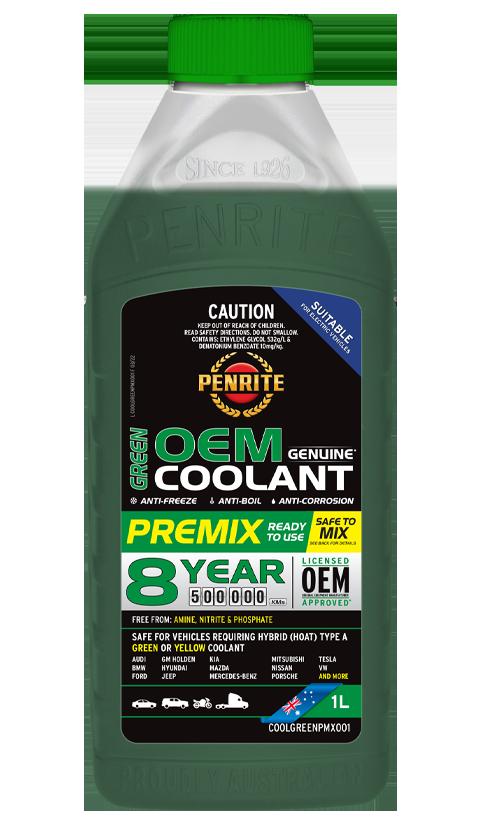 Penrite Oil - 7 YEAR 450,000KM GREEN PREMIX  - 1L