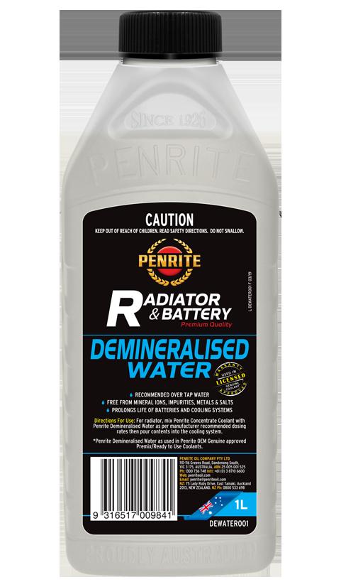 Penrite Oil - DEMINERALISED WATER - 1L
