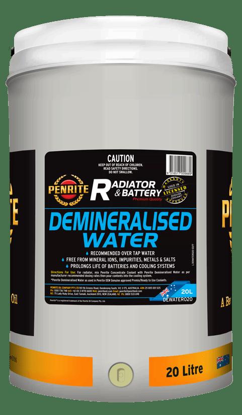 Penrite Oil - DEMINERALISED WATER - 20L
