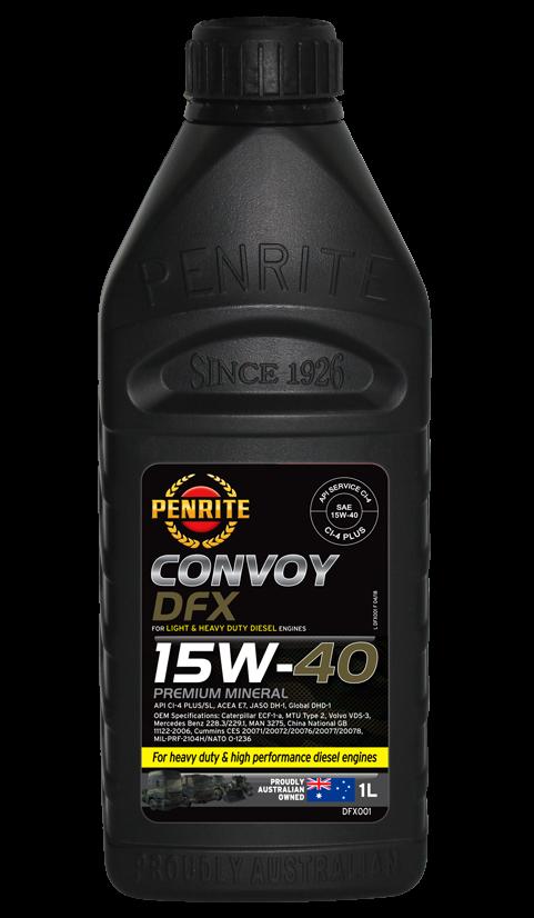 Penrite Oil - CONVOY DFX (Premium Mineral) - 1L