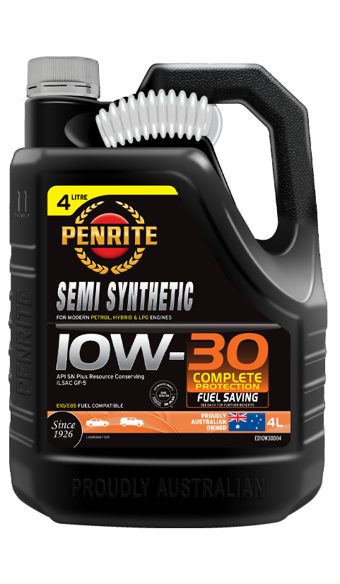 Penrite Oil- SEMI SYNTHETIC 10W-30 (NZ ONLY) - LPG (Gas) / Dual Fuel