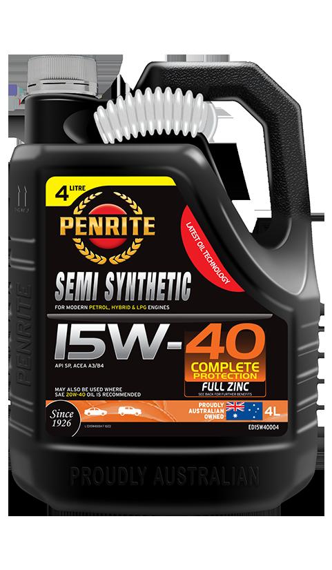 Penrite Oil - SEMI SYNTHETIC 15W-40 - 4L