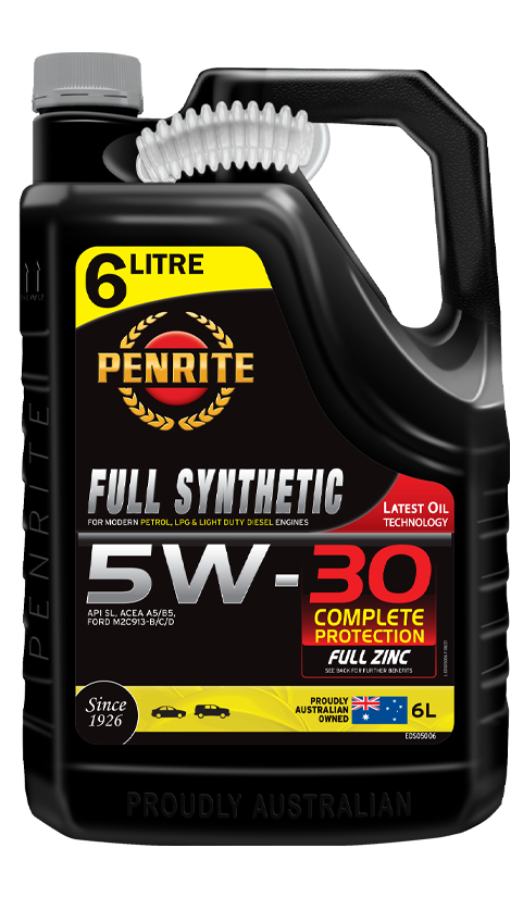 Penrite Oil- FULL SYNTHETIC 5W-30 - LPG (Gas) / Dual Fuel