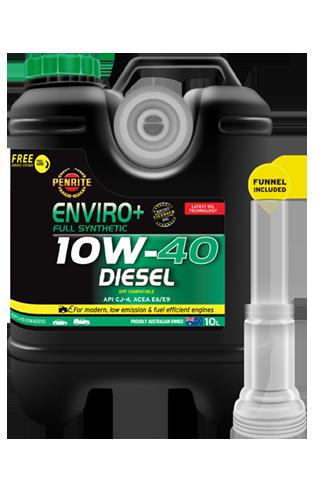 Penrite Oil - ENVIRO+ 10W-40 (FULL SYN.) - 10L