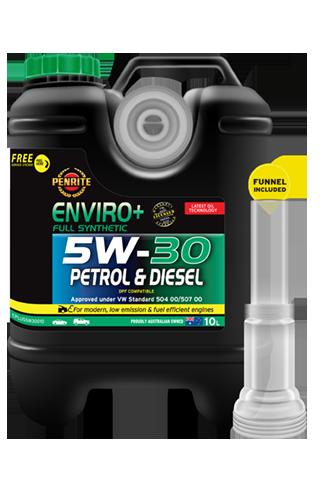 Penrite Oil - ENVIRO+ 5W-30 (FULL SYN.) - 10L