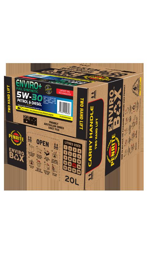 Penrite Oil - ENVIRO+ 5W-30 (FULL SYN.) - 20L