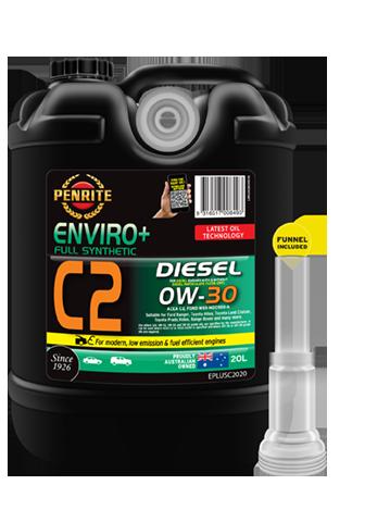 ENVIRO+ C2 0W-30 (FULL SYN )   Penrite Oil
