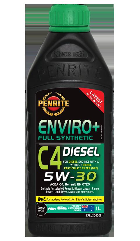 Penrite Oil - ENVIRO+ C4 5W-30 (FULL SYN.) - 1L