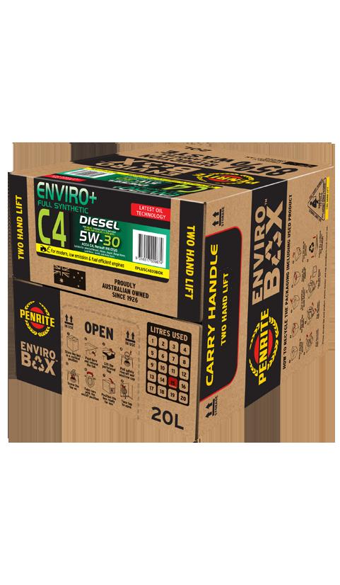 Penrite Oil - ENVIRO+ C4 5W-30 (FULL SYN.) - 20L