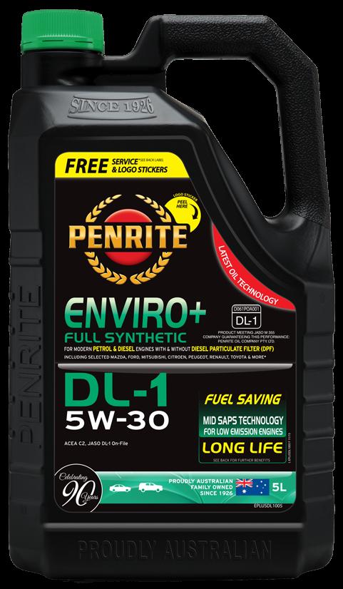 Penrite Oil- ENVIRO+ DL-1 5W-30 (FULL SYN.) - Diesel