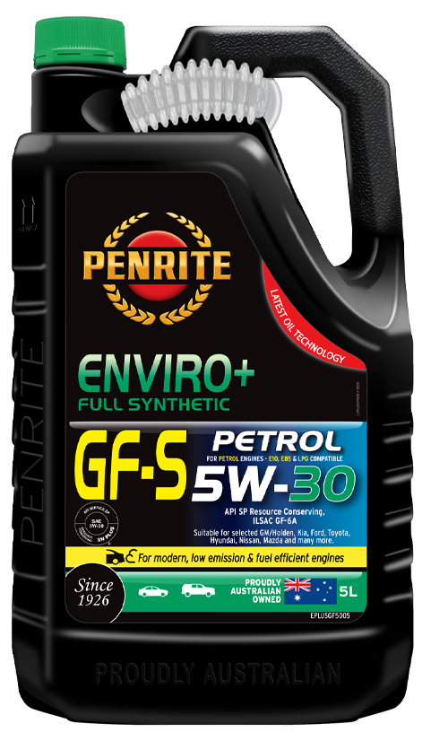 Penrite Oil- ENVIRO+ GF-5 5W-30 (FULL SYN.) - Full Synthetic Low - Mid SAPS