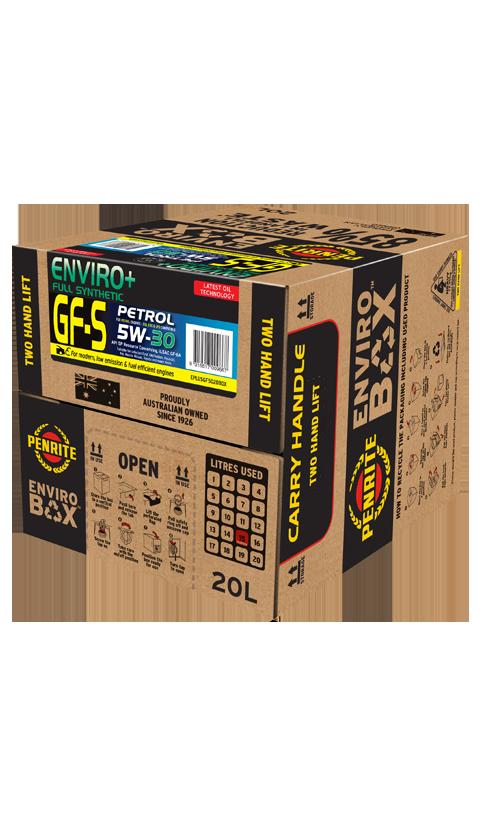 Penrite Oil - ENVIRO+ GF-5 5W-30 (FULL SYN.) - 20L