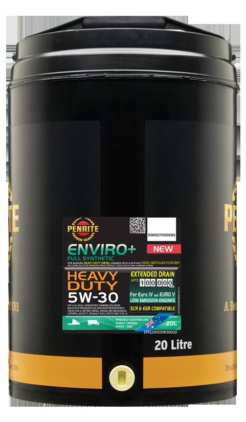 Penrite Oil - ENVIRO+ HD 5W-30 ( FULL SYN.) - 20L