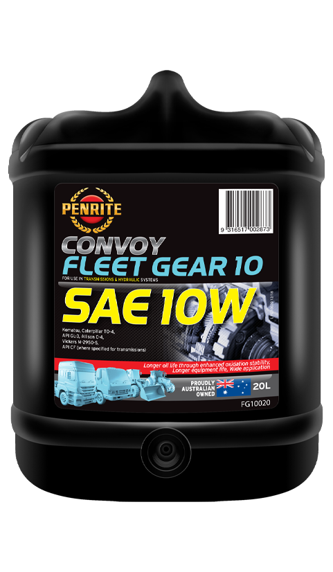 Penrite Oil- FLEET-GEAR 10W (SAE 10) - Gear/Differential Oils