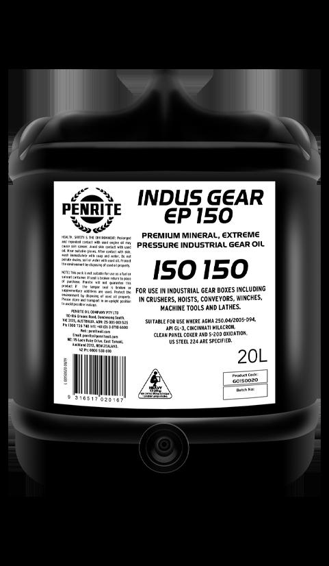 Penrite Oil- INDUS GEAR EP 150 - Gear Oils