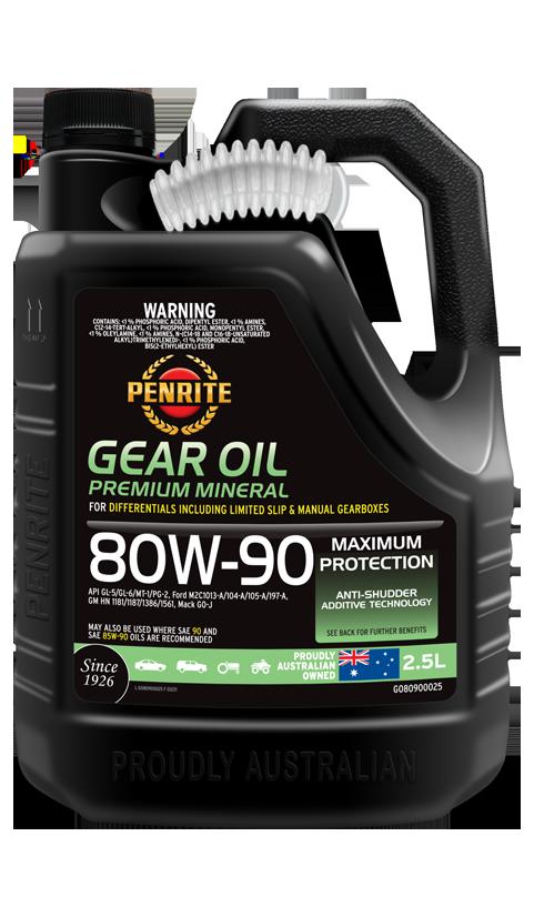 GEAR OIL 80W-90 (Mineral) | Penrite Oil