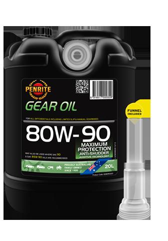 Penrite Oil - GEAR OIL 80W-90 (Mineral) - 20L