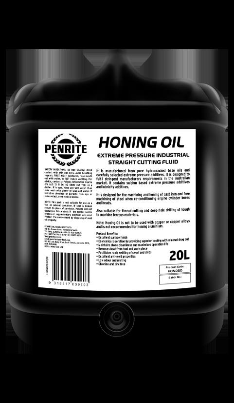 Penrite Oil- HONING OIL - Cutting Fluids