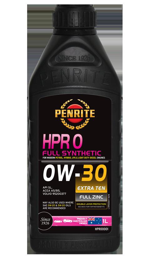 Penrite Oil - HPR 0 0W-30 (Full Synthetic) - 1L