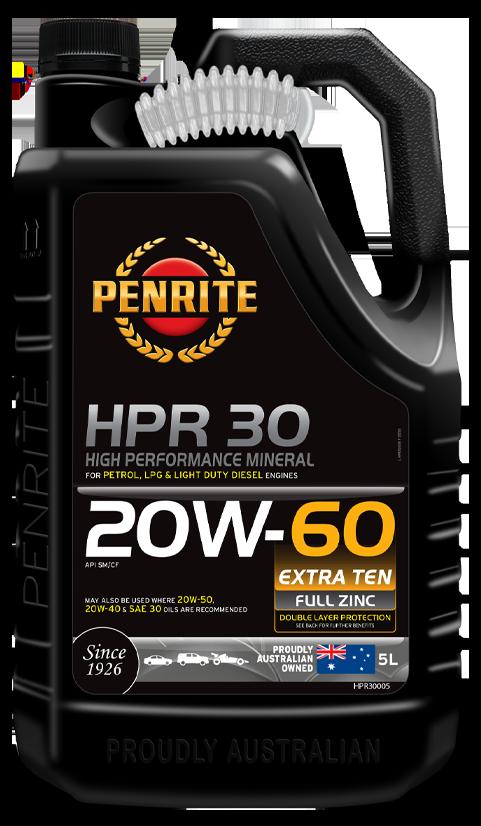 HPR 30 20W-60 (Mineral)