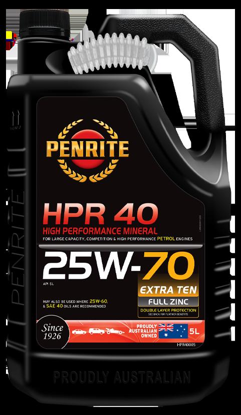 HPR 40 25W-70 (Mineral)