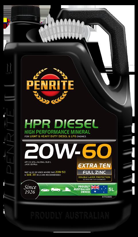 Penrite Oil- HPR DIESEL 20W-60 (Mineral) - HPR