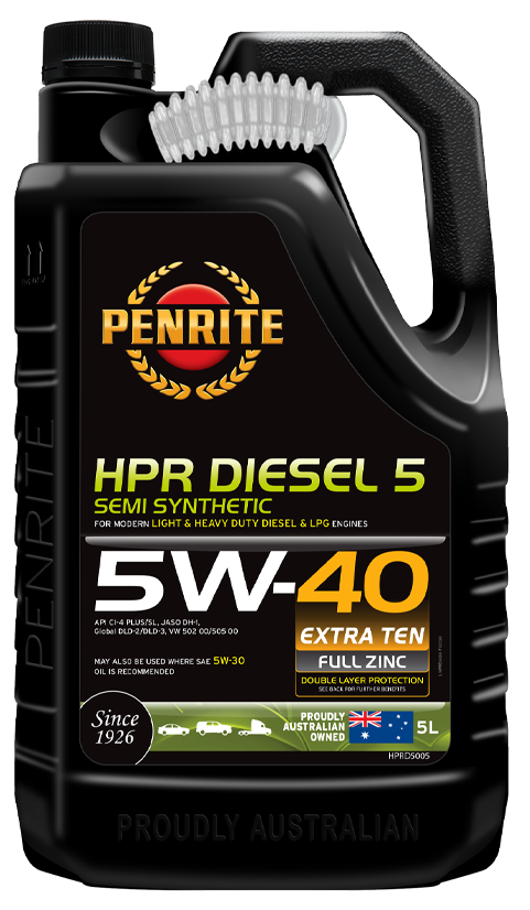 Penrite Oil- HPR DIESEL 5 5W-40 (Semi Syn.) - Semi Synthetic