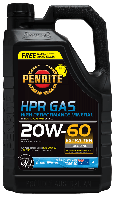 Penrite Oil- HPR GAS 20W-60 (Mineral) - Mineral