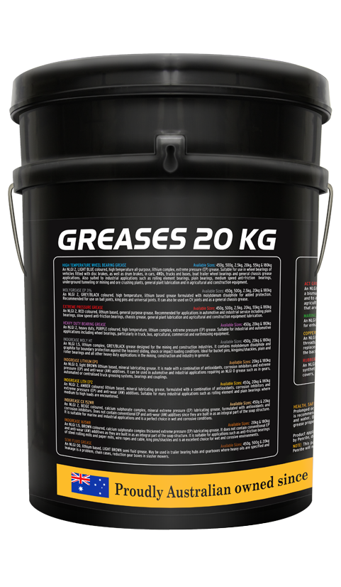 Penrite Oil- INDGREASE LITHIUM EP 0 - Greases